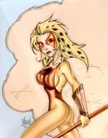 Cheetara by Bill Maus by Mythical-Mommy