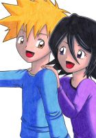 Ichiruki as Kids by KasumiKetchum