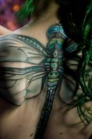 Dragonfly Body Paint by Battledress