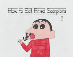 How to Eat Fried Scorpions by onyxswami