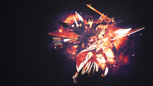 Sword Art Online Wallpaper by LizzKaviste