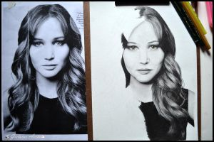 Jennifer Lawrence - WIP 2 by Gigi-Avila