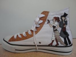 steampunk shoes -- third side by Traumfaengerin-Wish
