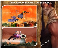 TEMA PARA WINDOWS 7 4 GUERRA NINJA by army13581