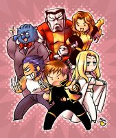 CHIBI: Astonishing X-MEN by Atori-X