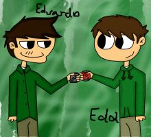 Eduardo Y Edd hi dude by careenloba