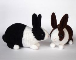 Dutch bunnies again by LunasCrafts