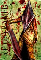 Red Pyramid AKA Pyramid Head by MaRaMa-TSG