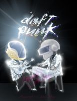 Daft Punk Chibi by ThanhMieu