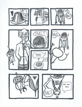 Torq and Chamberz page one by PurpleTux461