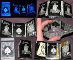 Dark Joker Playing Card Wallet by puzzlerf