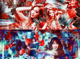 2 Taeyeon's covers by dmesfan