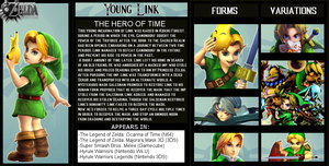The Crossover Game: Young Link Bio by LeeHatake93