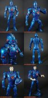 New Stealth Armor Iron Man by KyleRobinsonCustoms