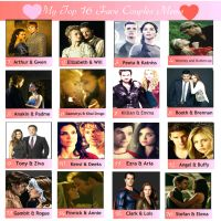 Top 16 Fave Couples Meme (1st Edition) by nickelbackloverxoxox
