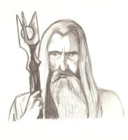 Saruman by Wild-Huntress