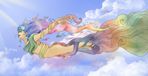 flight to heaven by Lubie-Lu