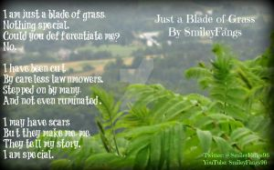 Just a Blade of Grass by SmileyFangs