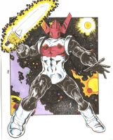 Acroyear from the Micronauts by dannphillips