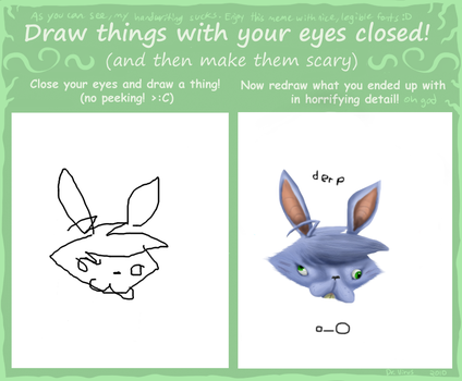 how to draw half closed eyes