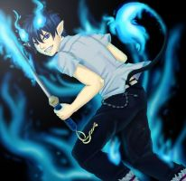 Blue exorcist by Tropic02