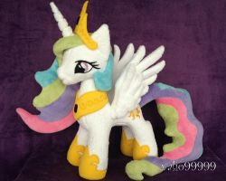 My little pony plush Celestia by valio99999