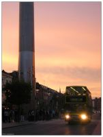 Dublin - O'Connell Street 01 by trydisegna