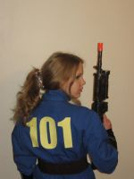 Cosplay Preview:Vault 101 Suit by LadyofRohan87