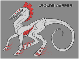 Info Sheet - Arcane Warper by Ganja-Shark