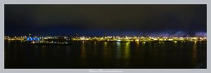 Hamburg Night by IndianRain