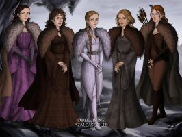 Wildling Women by ZoombieGrrll