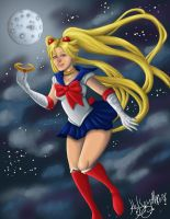 Sailor MOOON! by CosmicFox11