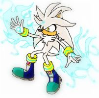 Silver the Hedgehog by SpyxedDemon
