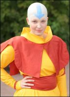 Avatar Aang Cosplay 1 by Honeyeater