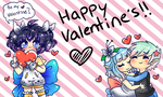 [ UTAU ] Happy Valentine's from us! + Video Link by StarGamer01