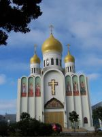 Russian Orthodox Cathedral by blameworthytragedies