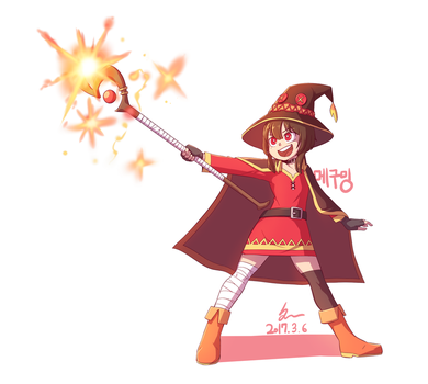 Megumin by noyoonho