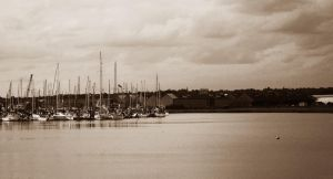 afternoon harbour by Reginald-Tribianni