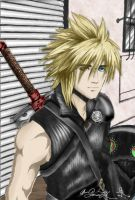 Cloud Strife FF AC by Yaonechan