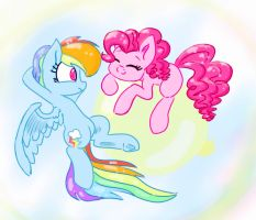 Pinks...what the hay...?! by iMarieU