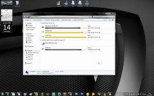 Black Se7en for Windows 7 by dejanibanez