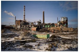 Once it was a sugar factory by billysphoto
