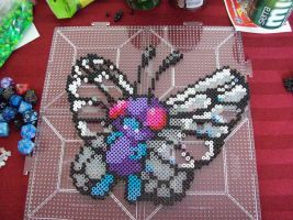 Butterfree Perler by echaltraw