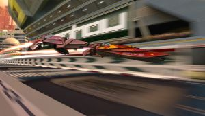 Wipeout HD Fury - Two rockets by rossriders