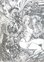 WITCHBLADE_SPAWN by johnbecaro