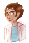 Young Rick Sanchez by xCuteiKinz