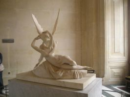 Cupid and Psyche I by Hiljainen-stock