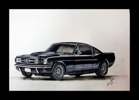 1967 Mustang Shelby by reeh0
