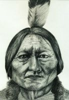Chief Sitting Bull by hippy-girl