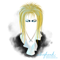 Labyrinth: Jareth / David Bowie by abitfrank